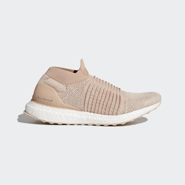 online retailer 44b75 206ce Ultraboost Laceless Shoes Beige   Ash Pearl   Ash Pearl   Ash Pearl CQ0010