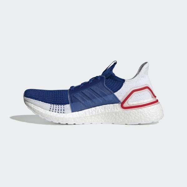 adidas Originals Ultraboost 19 White Blue EF1340 On Sale