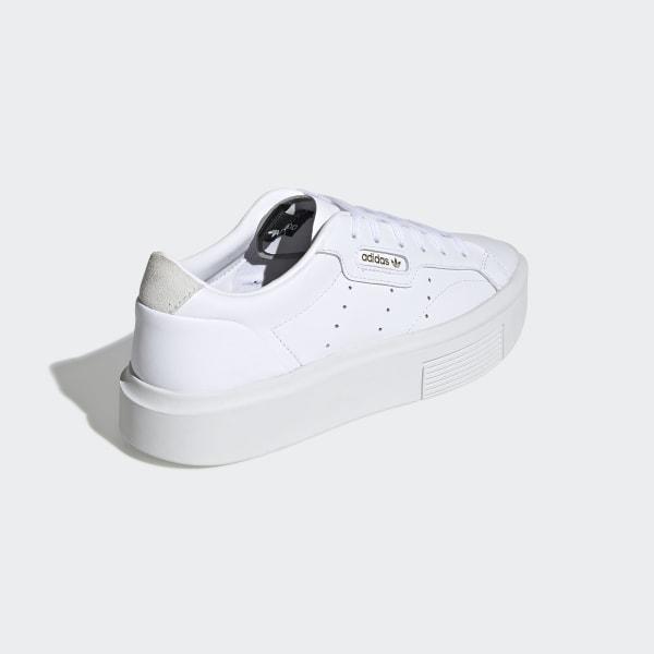 adidas Sleek Super Schoenen Ftwr White / Crystal White / Core Black EF8858