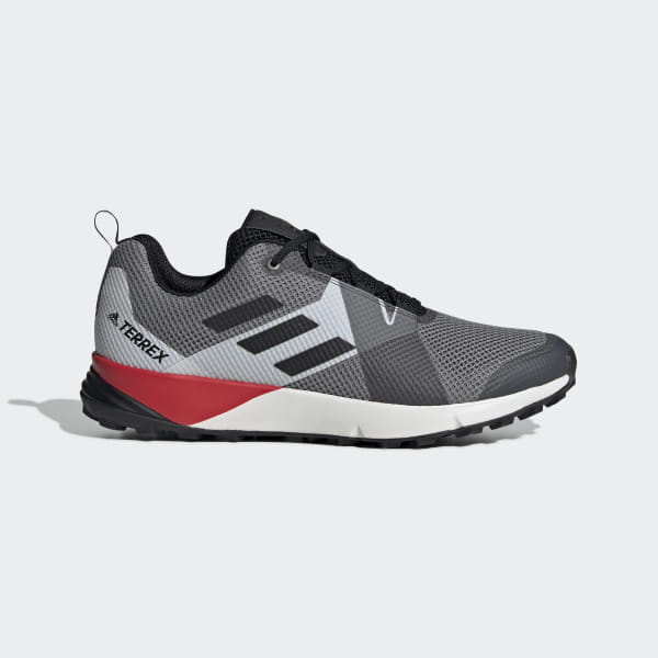 db0237b767 Terrex Two Shoes Grey Three / Core Black / Active Red BC0499