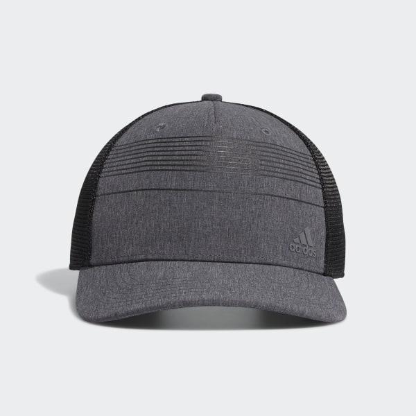 438bb94ceb0c0 adidas Striped Trucker Hat - Black | adidas US