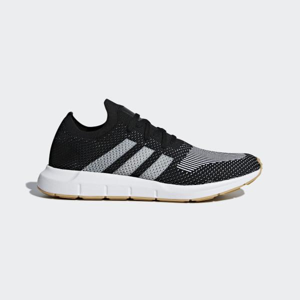 adidas Swift Run Primeknit Shoes Black | adidas US