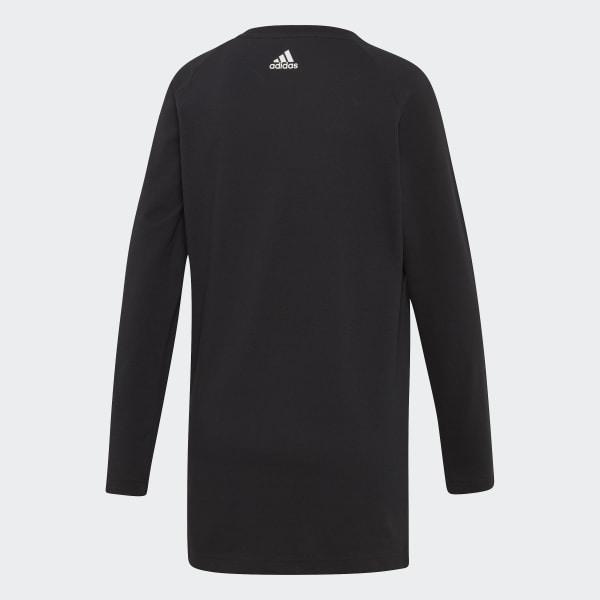 a9da926d9860d adidas Women's Must Haves 3-Stripes Long-Sleeve Tee - Black | adidas ...