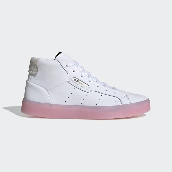 7f5be2db19 adidas Sleek Mid Shoes - White | adidas Belgium