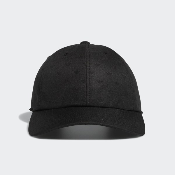 watch a344c 7a535 Relaxed Mini Trefoil Hat Black CK5014