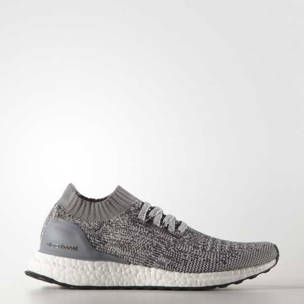 free shipping 21610 c454b ULTRABOOST Uncaged Shoes Clear Grey   Grey   Charcoal Solid Grey BB3902