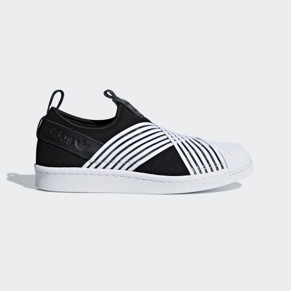 huge selection of 948e6 52b0a adidas Superstar Slip-on Shoes - Black | adidas Ireland