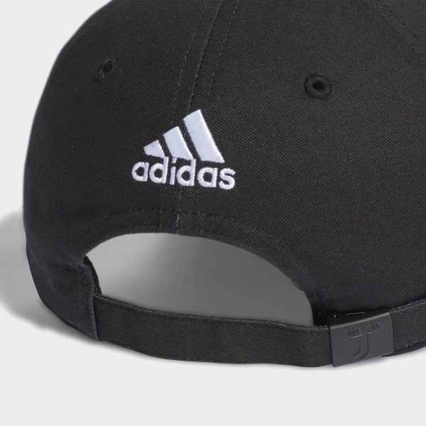 30f52dcbe7dba adidas Juventus 3-Stripes Hat - Black | adidas US