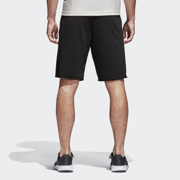 a401629d5d adidas Essentials Raw-Edged Shorts - Black   adidas US