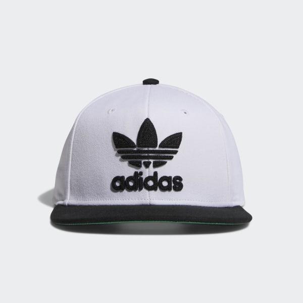 4d6101fd32d904 adidas Trefoil Chain Snap-Back Cap - White | adidas Canada