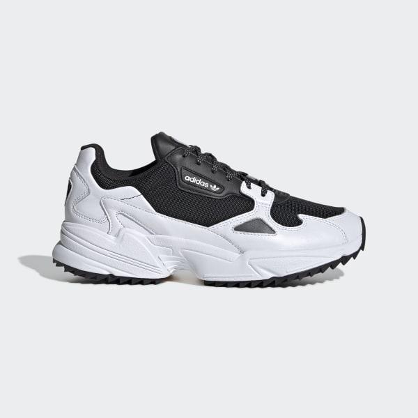 adidas Falcon Trail Shoes - Black | adidas Australia