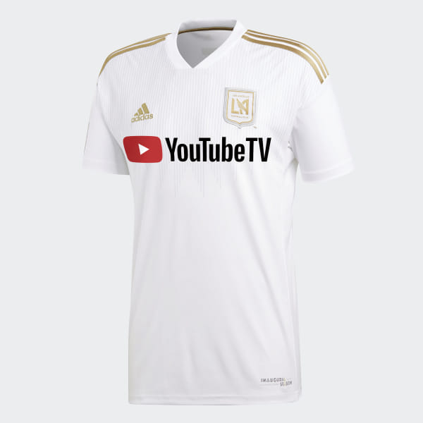 896cab30d7d Los Angeles Football Club Jersey Away White   Dark Football Gold CE3281