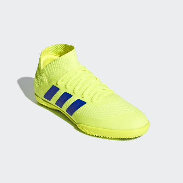 online store 0f218 0947e Nemeziz Tango 18.3 Indoor Shoes Solar Yellow   Football Blue   Active Red  CM8512