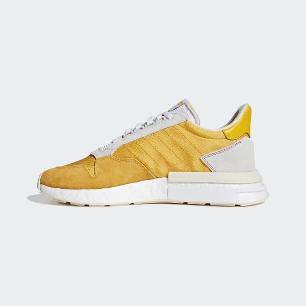 brand new de8eb eeabf adidas ZX 500 RM Shoes - Gold | adidas UK