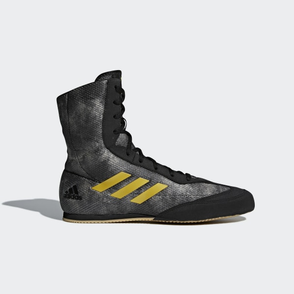 Adidas Box Hog 2 Boxstiefel Boxer Schuhe schwarzweiß
