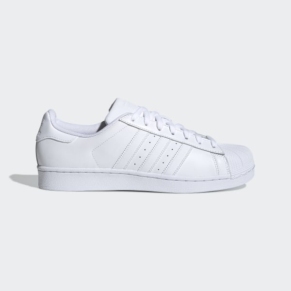 4a95c3ec5ab086 Superstar Foundation Shoes Cloud White / Cloud White / Cloud White B27136