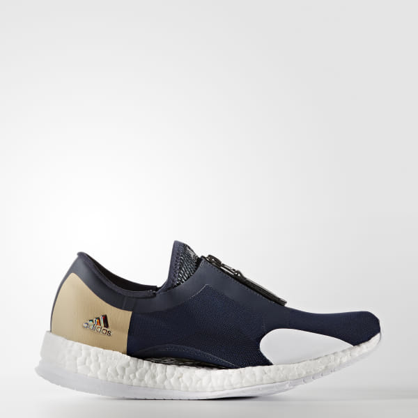 df209cbe3 Pure Boost X Trainer Zip Shoes Collegiate Navy / Core Black / Blue BA8038