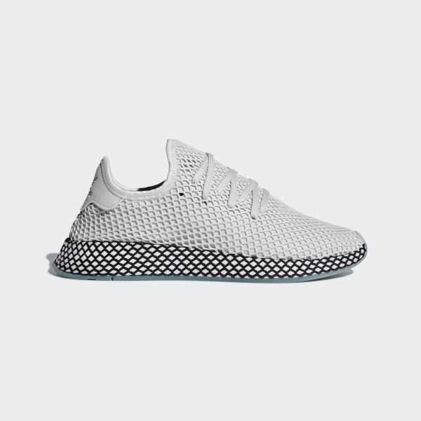 check out b9522 f631e Chaussure Deerupt Runner Grey One   Grey One   Clear Mint B41754