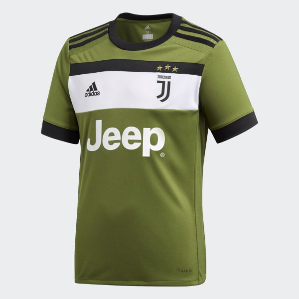 ca87f5ea1 Juventus Third Jersey Craft Green   Black AZ8684