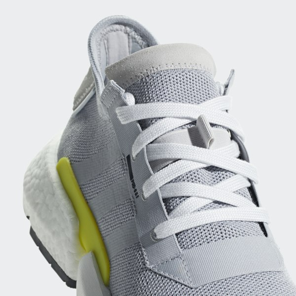 best service eb192 b8959 POD-S3.1 Shoes Grey Two   Grey Two   Shock Yellow B37363