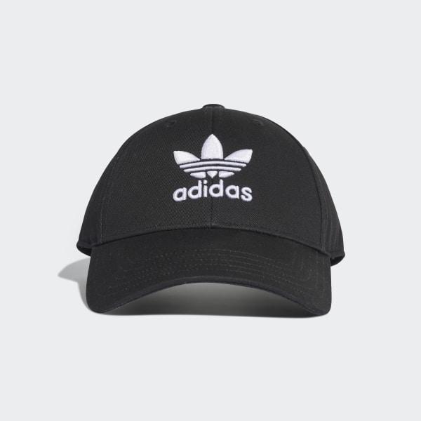 320532213c349a adidas Trefoil Baseball Cap - Black | adidas Canada