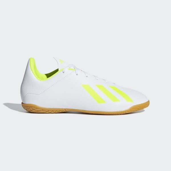 fadd70104a Chuteira X Tango 18.4 Futsal ftwr white   solar yellow   ftwr white BB9411