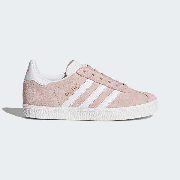 91c8a3c3 Gazelle Sko Icey Pink / Cloud White / Gold Metallic BY9548