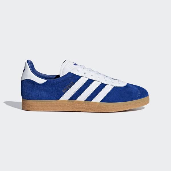 adidas Gazelle Schoenen blauw | adidas Officiële Shop