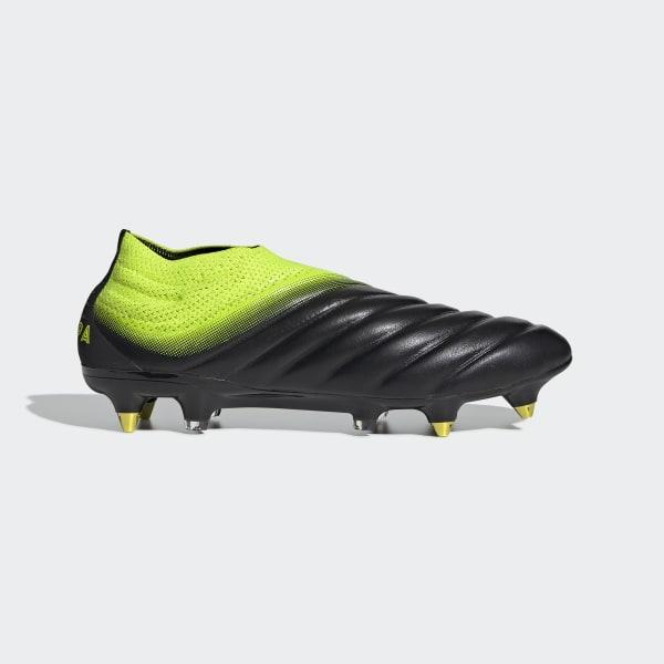 8cd0a8be7b Scarpe da calcio Copa 19+ Soft Ground Core Black / Solar Yellow / Core Black