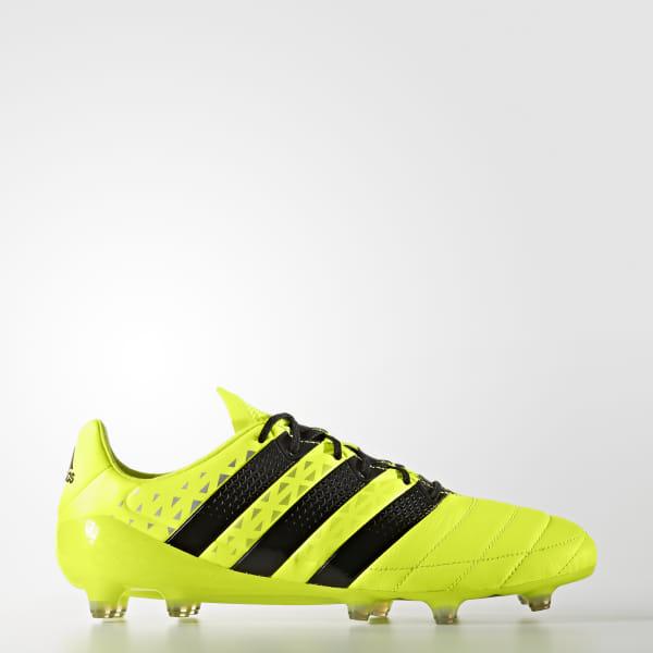 adidas Calzado Fútbol Ace 16.1 FG Leather Amarillo | adidas Mexico