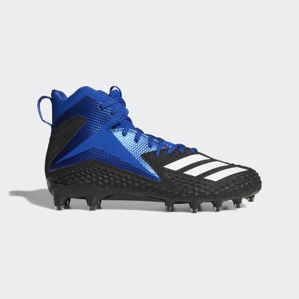 6be3ada9b Freak x Carbon Mid Cleats Core Black   Cloud White   Collegiate Royal DB0232