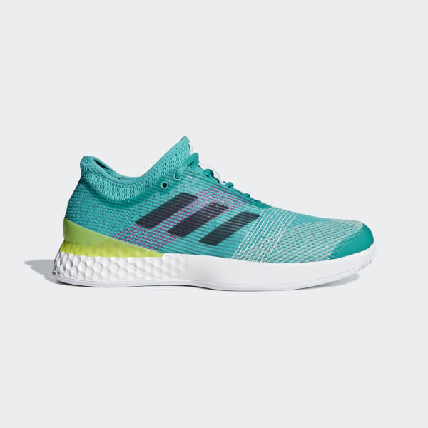 lowest price 189d6 5bea7 Adizero Ubersonic 3.0 Schuh Legend Ink   Ftwr White   Shock Yellow CP8852