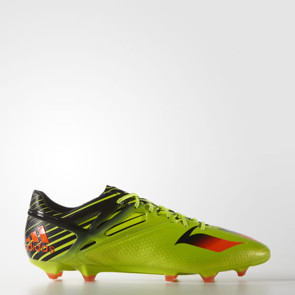 f728ad4df50f adidas Men's Messi 15.1 Firm/Artificial Ground Boots - Green | adidas ...
