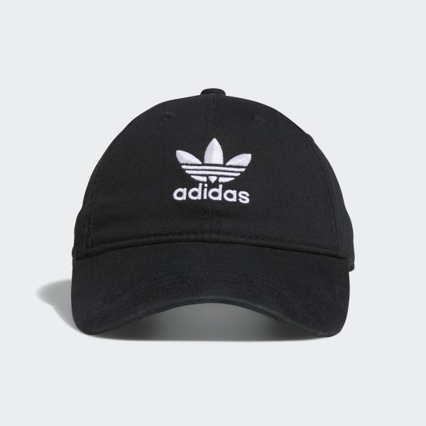 3ca0794d adidas Originals Relaxed Strap-Back Hat - Black | adidas US