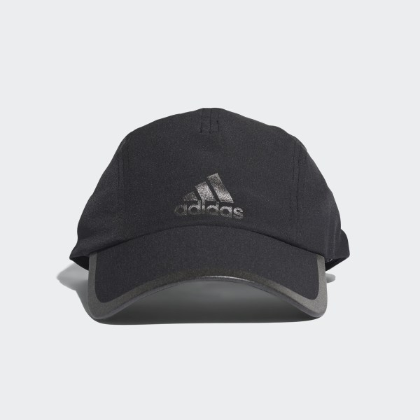 dc198188 Climalite Running Cap Black / Black / Black Reflective CF9630
