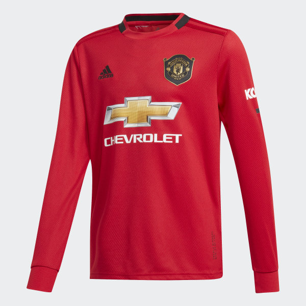 7d1ef1f198b Manchester United Home Jersey Real Red DX8955