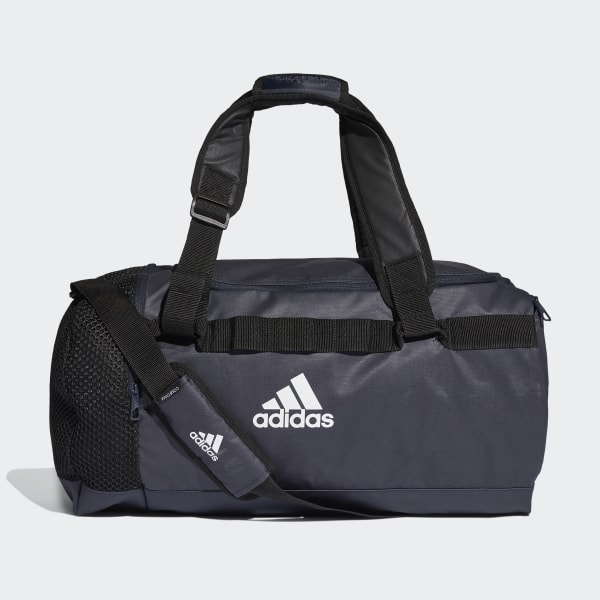 adidas Convertible Training Duffel Bag Medium Blue   adidas Switzerland