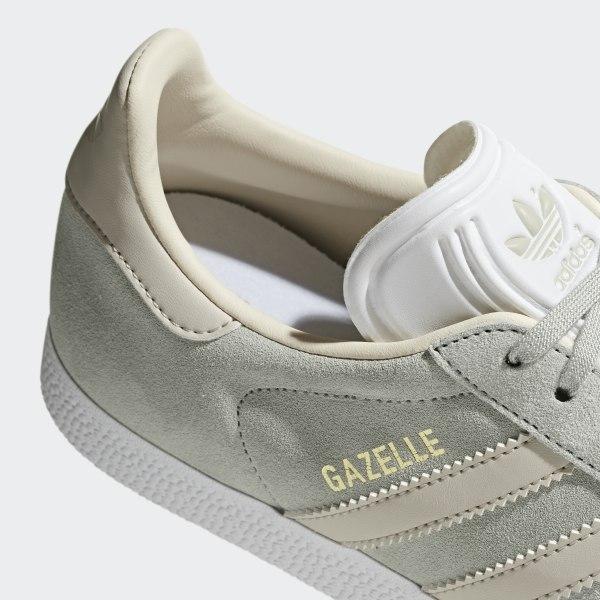 21aeefc4382 Gazelle Shoes Ash Silver / Clear Brown / Ecru Tint CG6065