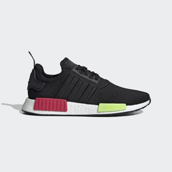 2b8116132 NMD_R1 Shoes Core Black / Core Black / Energy Pink EE5100