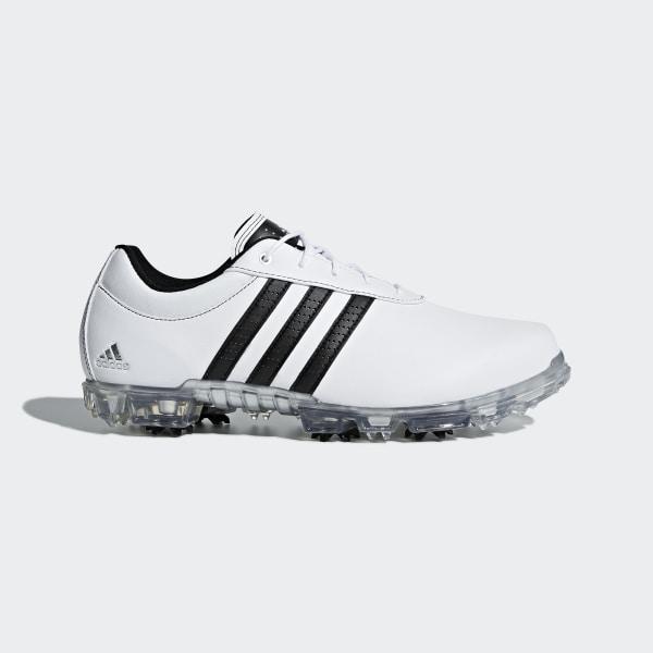 15891179d7a adipure Flex Wide Shoes Footwear White / Core Black / Silver Metallic F33456