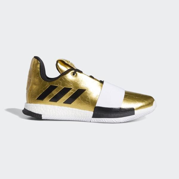 a72f729c6cc6 Harden Vol. 3 Shoes Gold Metallic   Cloud White   Core Black G54026