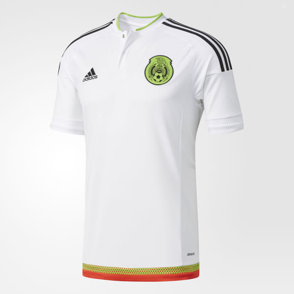 cdba0a1c746 adidas Jersey Selección México Visitante 2016 - Blanco | adidas Mexico