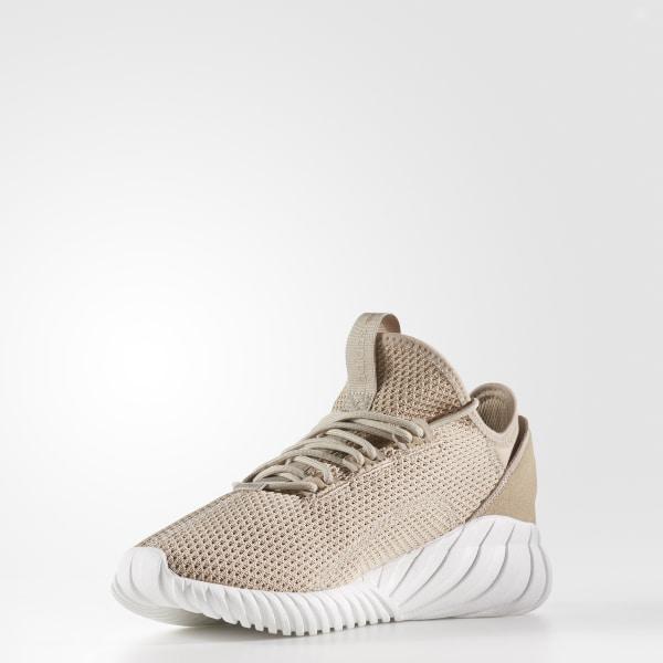 adidas Tubular Doom Sock Shoes - Brown |