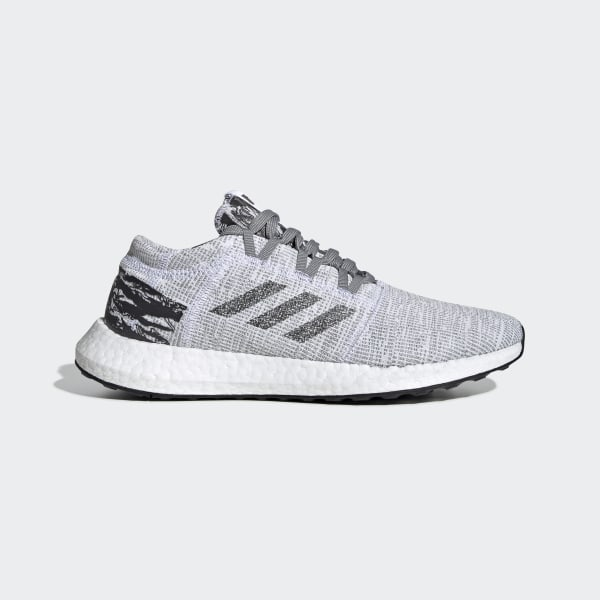 best website a192b a2edc adidas x UNDEFEATED Pureboost GO Shoes Grey   Core Black   Core Black BC0474