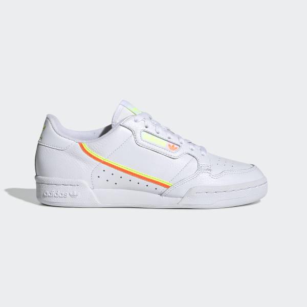 adidas Continental 80 Shoes - White | adidas US