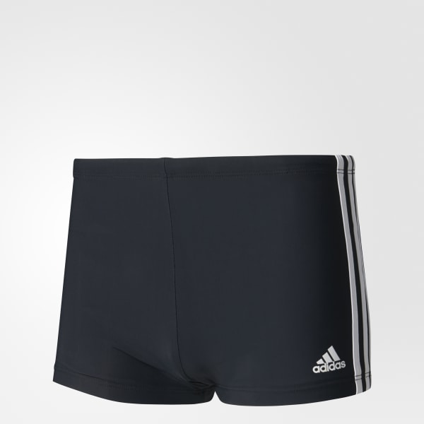 d3dea6b57 Sunga Boxer 3-Stripes - Preto adidas   adidas Brasil