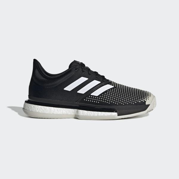 14b93f75197 SoleCourt Boost Clay Shoes Core Black / Cloud White / Raw White G26293