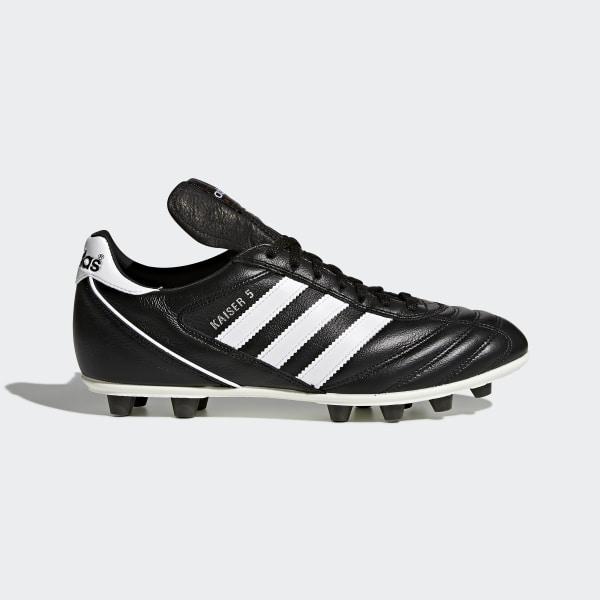 buy popular 400c9 e62f9 Bota de fútbol Kaiser 5 Liga Black   Footwear White   Red 033201