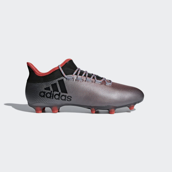 sports shoes 1f2ff f2c30 Chaussure X 17.2 Terrain souple Grey   Core Black   Real Coral DB1401