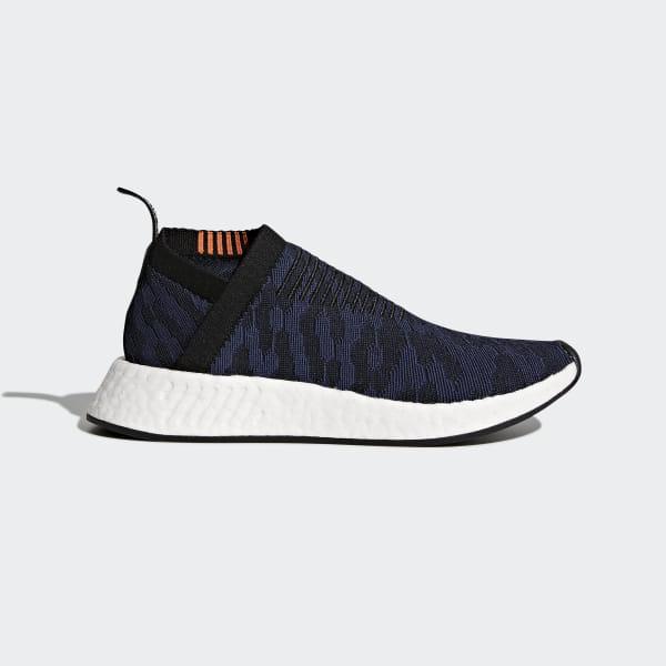 6793b1e0 NMD_CS2 Primeknit Shoes Core Black / Noble Indigo / Ftwr White CQ2038